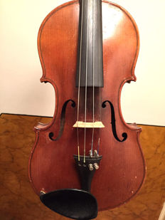 German violin by BB & Co, 1886