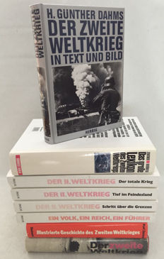 WW II; Lot with 5 reference and overview works in German about WW II - Ca. 1975/1995
