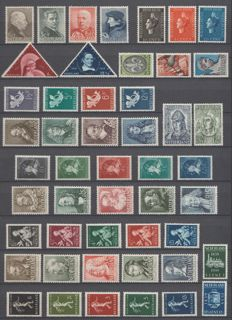 The Netherlands, 1936-1939 - selection between NVPH 283 and 331