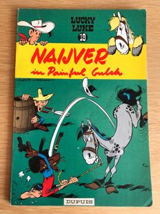 Lucky Luke 19 - Naijver in Painful Gulch - sc 1e druk (1962)