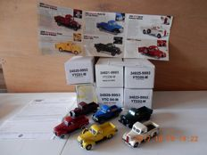 Matchbox - Scale 1/43 - Lot with 6 models: 6 x The classic American Pick Up truck Collection