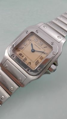 Cartier Santos Galbée Ref. 9357930 – Ladies' watch — 1990-1999