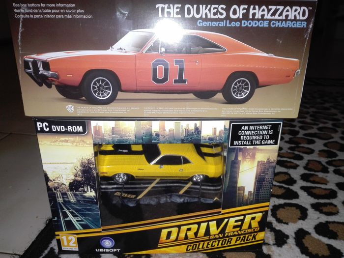 Driver San Francisco collector's Edition PC Package + Dukes