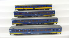 Märklin H0-42643/4164-Set of 3 and 1 InterCity express train passenger cars Plus ICR carriage of the NS