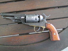 35 cal. Belgium Brooklyn Bridge Colt with Liege proof marks to cylinder