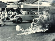 Malcolm Browne (1931-2012)/Associated Press - Buddhist monk Immolation, Saigon, 1963