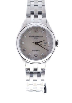 Baume & Mercier - Clifton 30 MoP Diamonds - M0A10151 - Unisex - 2011-heden