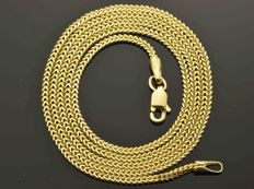 18K. Gold Necklace. Chain - 50 cm. No reserve price.
