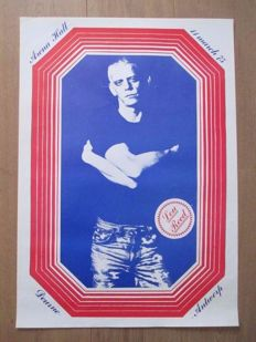 Anonymus - Lou Reed - Concert poster - 1975