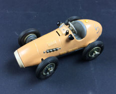 Schuco, US Zone Hermany - L. 17 cm - tin Grand Prix Racer 1070 with spring mechanism, 1950s