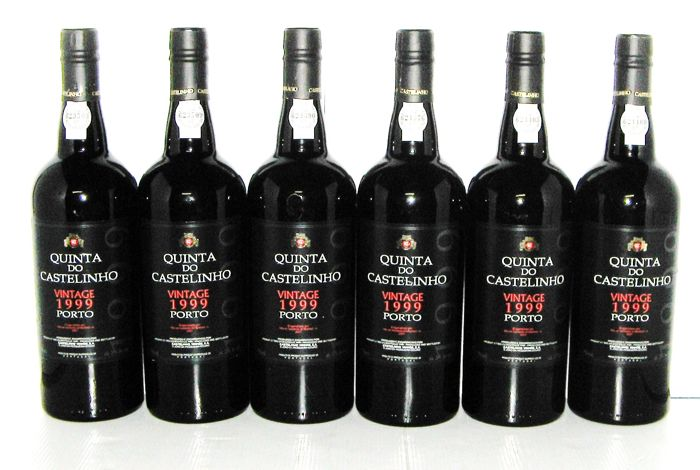 1999 Quinta do Castelinho Vintage Port, Bottled 2001 - Lot of 6 Bottles