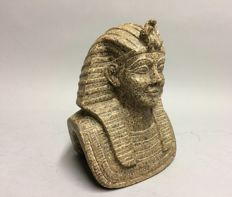 Granite statue of a Pharaoh