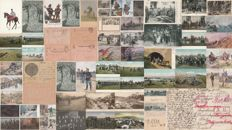 MILITARY WWI - Germany - Austria/Hungary - Lot of 69 postcards