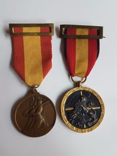 Lot of Two Spanish Civil War Medals