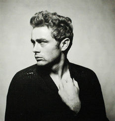 Roy Schatt (1909-2002) - James Dean, 'Torn Sweater series', 1954