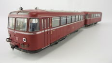 Fleischmann H0 - 1015 - Railbus with trailer VT95 / VB142 of the DB