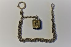 Silver chain, late 1900s
