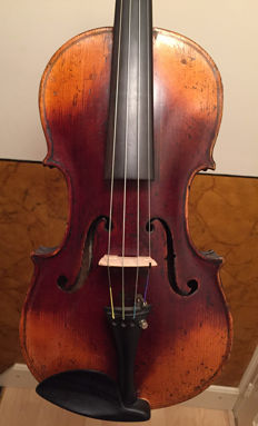 Old Bohemian Amati copy violin
