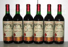 1986 Château la Chapelle Lescours, Grand Cru de Saint-Emilion - lot 6 bottles