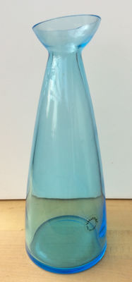 V. Nason & C. - transparent light blue vase