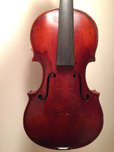 Nice old violin, labelled Stradivarius