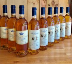 3x 1995 Cadillac Château Cousteau & 6x 1996 Monbazillac Feytout - 9 bottles in total