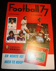 Panini - Football 77 - Belgian league - Promotion Poster