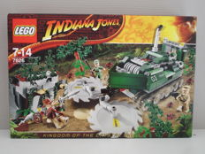 Indiana Jones - 7626 - Jungle Cutter - Kingdom of the Crystal Skull