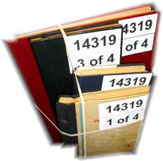World - Batch in four stock books