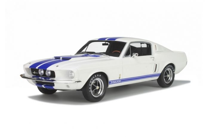mustang shelby gt500 1967. otto mobile - scale 1/12 ford mustang shelby gt500 1967 gt500 r