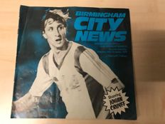 Program booklet with signature Johan Cruijff