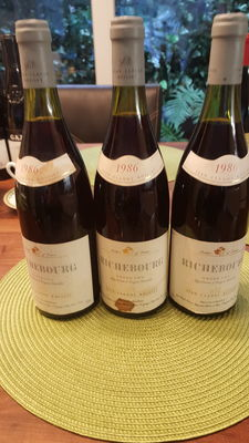 1986 Richebourg Grand Cru - Jean Claude Boisset x 3 Bottles