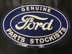 Advertising Sign Ford approximately 1930/1940