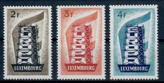Luxembourg 1933/1957 - Collection on cards