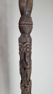 Large dignitary staff - Marquesas islands