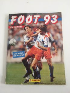 Panini - France division 1 - football 93 - full Album.