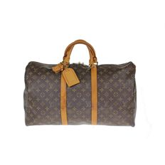 Louis Vuitton - Monogram Keepall 50 travel bag