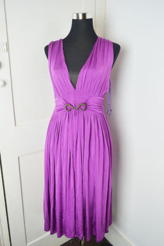 Just Cavalli Purple Dress