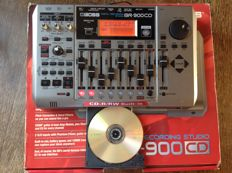Roland/Boss BR-900 CD - digital multitrack recorder/recording studio with cd-writer, top effects and usb