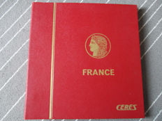 France 1930/1959 - collection in Ceres album complete from 1938 - Yvert between no. 264 and 1229