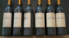 1992 Chateau Talbot, Saint-Julien grand cru classé - 6 bottles