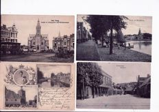 Lot with 145 postcards, The Netherlands, ca. 1898 - 1940