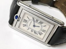 Cartier Tank Basculante R. 2405 - Unisex/men's watch from beginning of the year 2000