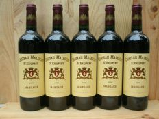 2006 Chateau Malescot St. Exupery, Margaux, Grand Cru Classe - 5 bottles (5x0,75ltr.)