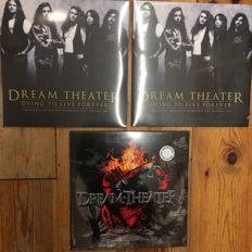 Dream Theater Collection || Live Recordings || 5x LP in total || Mint in sealing!