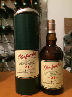 Glenfarclas 21 years old - Original bottling - 700ml - 43%