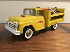 Buddy L, USA - Length 38 cm - Pressed steel Coca-Cola truck, 1950s