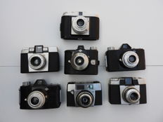 7 different AGFA cameras
