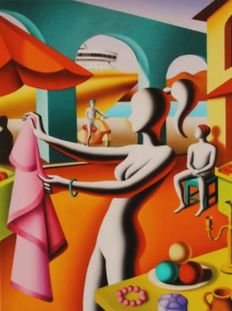 Mark Kostabi - For Alfredo or Salvatore