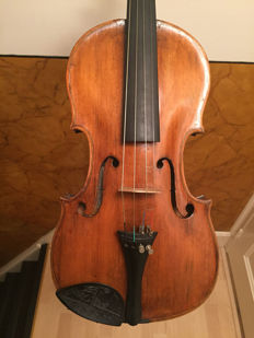 Beautiful old fine violin, labelled Franz Xav. Güttler 1921